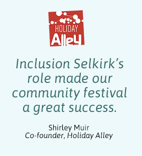 Inclusion Selkirk's role made Holiday Alley a great success.